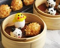 (10/1~)【Official website Weekday Preorder-Only】 Dim Sum Set + Kawaii Dim Sum