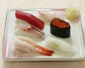【上握り寿司ランチ】清水