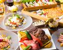 夏のビア&スパークリングビュッフェ 食べ放題+ソフトドリンクバー