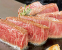 ランチ 新 国産牛フィレステーキ