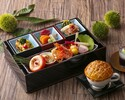 """[Summer Sale Lunch] with one drink to choose champagne! Gorgeous """"Aya: Irodori"""" lunch box packed with seasonal ingredients"""