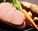【LUNCH】Tenderloin Steak Lunch飛騨牛80g