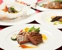 【SPECIAL LUNCH】季節食材の前菜からメインが特選牛フィレ肉のグリルなど 全5皿ランチフルコース(平日)
