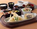 【ランチ】「天麩羅盛合せ」をメインに伝統和食と洋食を愉しむ7品コース