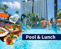 Garden Pool & Lunch Buffet plan (Weekend / Adult)