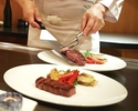 【Teppanyaki Dinner Course Hana】Seven dishes such as Black Abalone, Black Beef fillet or sirloin