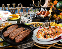 【土日祝限定!】通常4,212円→3,600円!ハロウィーンフェア!牛肉ステーキや特製ホット料理、デザート等、豊富な種類が食べ放題!