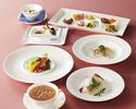 【ふかひれスープコース】北京ダック、季節の食材を使用した全8品(窓側確約・平日ランチ限定)