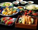 「旬菜コース」 8品+2時間飲み放題付き 5,500円 ⇒5,000円