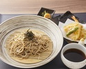 Tempura Hot Soup Soba Noodles Set
