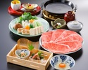 すき焼定食(120g)