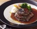 【1ドリンク付】牛フィレとフォアグラのメインと旬の三浦野菜、自家製シャルキトリー 秋のコース