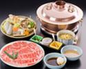 Shabu-shabu Nishiki course (TOP Quality Beef)