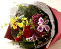 ★☆お食事のご予約と一緒にご注文ください☆★ 【オプションメニュー】フラワーアレンジメントB(大きな花束)