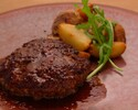 【Lunch】 Weekday only, Japanese shorthorn and Wagyu hamburger