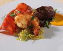 【ディナー】和牛炙りやフィレ肉のグリル、雲丹や鮪など豪華贅沢に堪能全6品 <NoMad Course>