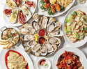 [Web reservation only] ☆ 2 hours all-you-can-drink ☆ 「Raw oysters, grilled oysters, Ahijo, pasta, etc.」 Recommended menu 5,000COURSE <all 8 items>