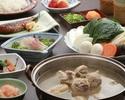 【昼の部】山笠 ~やまかさ~ (博多の味覚を堪能する特選水炊きコース)