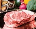 【29日 肉の日数量限定!】北海道・岩手・とちぎの銘柄牛食べ比べスペシャルコース!特製ガーリックライス付<10月~>