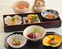 A light course meal-Sansai-