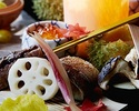 日本料理なにわ 接待プラン 季節の会席料理+フリードリンク