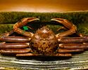 Matsuba crab course    60000yen(Counter seat)