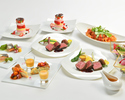 [December] <Italiano> Steak course of Yonezawa beef from Yamagata Prefecture and organic vegetables from Miura (includes all-you-can-drink for 3 hours)