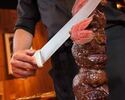 [Lowest price on the WEB] [Dinner Churrasco] 15 kinds of Churrasco including Japanese beef, about 50 kinds of Brazilian food, with dessert buffet