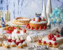 苺とクリスマスのデザートビュッフェ ~ホワイトクリスマス ピーチャの大冒険~