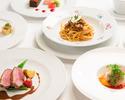 ★【平日ランチ限定】前菜・パスタとメイン料理!アルポルトランチ