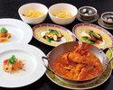 NEW!平日限定【Lunch9/1~11/30まで】ジョホール・コース The Johor Course 4,000円