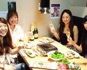 仲間内、同僚とリーズナブルに焼肉宴会!『マルウシミートコース 5,000円(税抜)』《料理全8品 2時間飲み放題付》