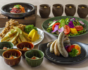 【Dinner】 1899 Party Plan 4500 yen course