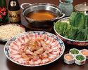 【 龍馬鍋コース】土佐のブランド豚に地鶏を使った祢保希の人気鍋!