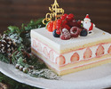 【Lily cakes】Christmas Short Cake S (12x18)