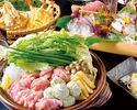大山鶏とつくねのハリハリ鍋コース 5000円(全10品)