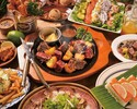 ☆ハワイアン女子新年会コース☆【乾杯ドリンク&食後のカフェ付】全8品
