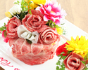 """Anniversary / Special Day: Celebration of Omi Beef Cake """"Anniversary Course"""" All 9 Items"""