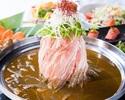 <金・土・祝前日>【肉寿司付き!あったかお鍋コース】鍋含む6品+アルコール飲放+3時間