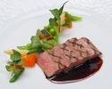 【web予約特典!乾杯スパークリング付&メインをグレードアップ】メインは国産牛フィレ肉に!鮮魚料理、ワゴンデザートなどフルコースディナー全5品 ~ル・クール~