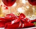 【クリスマスディナー2019】乾杯スパークリングワイン付き 真鯛やオマール海老・牛ロースグリルなど全5皿