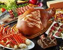 【クリスマスディナーブッフェ.12/21~12/22】黒牛ローストビーフや、ずわい蟹、ノルウェーサーモン、ブッシュドノエルも!クリスマス+鹿児島ブッフェ2時間食べ放題