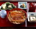 まむし丼(一尾半)+菊御膳