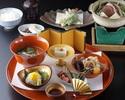 日本料理 3500円ランチ<戦国饗応膳>
