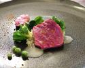 《メイン尾崎牛サーロイン ディナーコース》10品のコース
