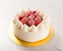 角型イチゴのショートケーキ・・・12cm(2~4名様)
