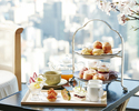 【Rooftop Terrace】Sakura Afternoon Tea <Regular Terrace Table>
