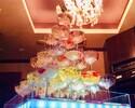 〈日~木・祝〉シャンパンタワー付き カジュアルアニバーサリーコース アルコール含む飲み放題
