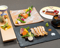 """Japanese-style Kaiseki course """"Watsuki (Wagetsu)"""" all six dishes (3hours all-you-can-drink plan)"""