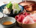 Cset:Beef loin120g+YONEZAWA pork80g